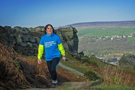 Emma Moscrop, diagnosed with Parkinson's at 46, is determined to keep as fit and healthy as she can. Image: Tony Johnson