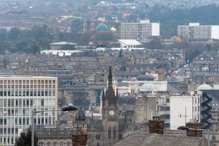 Drivers could be charged to enter Bradford under the clean air zone plans. Credit: Tony Johnson