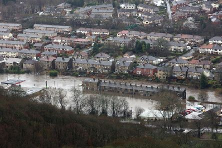 Mytholmroyd, like many parts of the Calder Valley, was hit badly during the 2015 Boxing Day floods