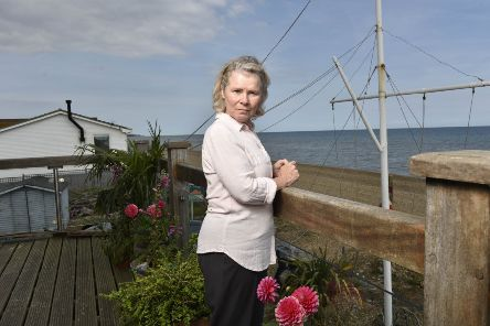Imelda Staunton as Mary in Flesh and Blood. Picture: ITV