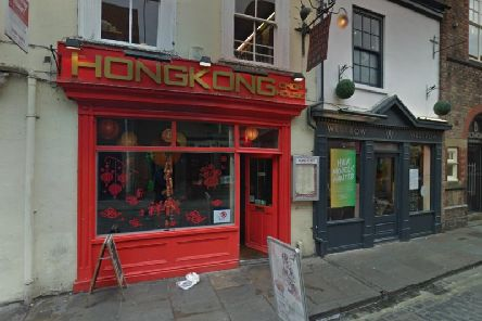 Hong Kong Chop HOuse on Swinegate, York city centre