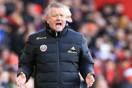 Sheffield United manager Chris Wilder: 'The fans didn't go on holiday.'