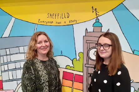 The project is run by the NSPCC team in Sheffield, including Karen Bates (l) and Emily Grobler (r)