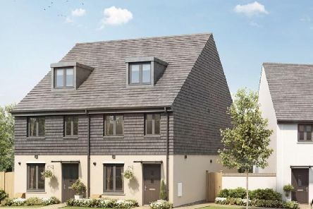 An example of an affordable Legal & General housing scheme.