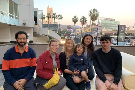 The Russell-Illingworth family had to pay for a second villa in Los Angeles after their disappointment