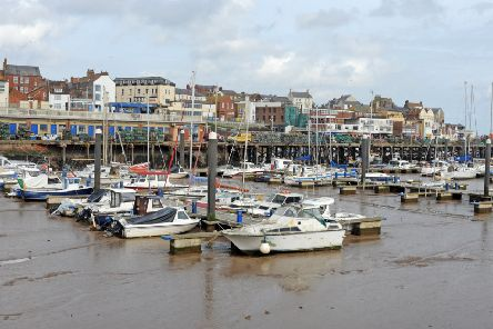 Yachts and pleasure boats in Bridlington Habour. Picture Tony Johnson.
