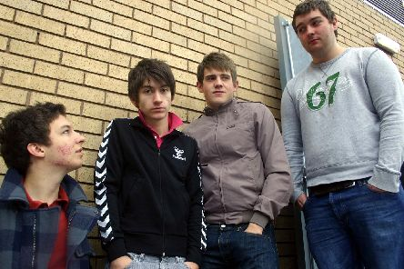 Arctic Monkeys in 2005.