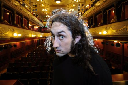 Ross Noble will finish his latest tour in Leeds next week.