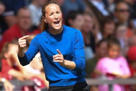 Casey Stoney: Game at a crossroads.