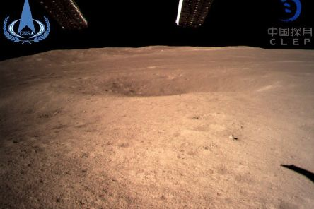 Landing on the far side of the moon will help open up a new chapter of lunar discovery. Picture: China National Space Administration/Xinhua News Agency via AP.