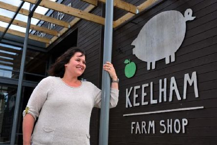 Keelham Farm Shop chief executive Victoria Robertshaw at the company's store in Skipton which opened in 2015. Picture by Tony Johnson.