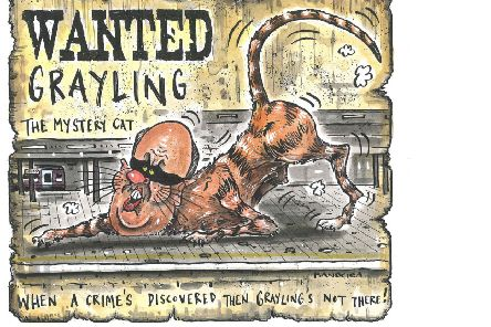 Graeme Bandeira's depiction of Chris Grayling.
