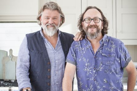The Hairy Bikers.