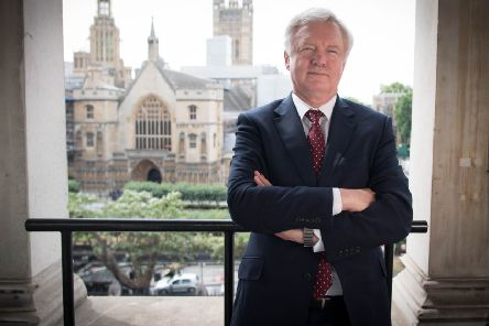 David Davis, the former Brexit Secretary, favours the scrapping of HS2.