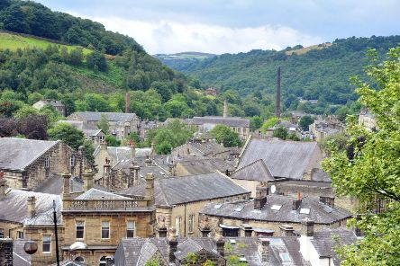 Hebden Bridge in the South Pennines