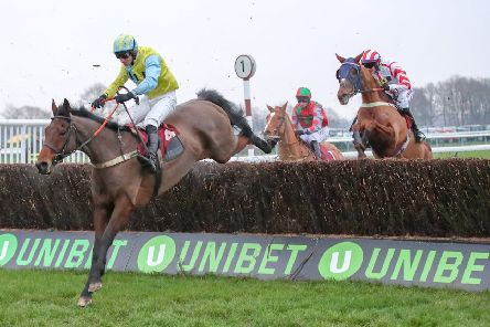 Wakanda and Damnny Cook (left) return to Haydock where they won the Peter Marsh Chase last month.