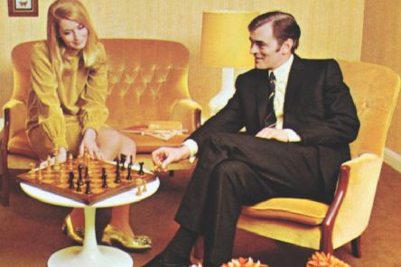 A 1960s advert for Parker Knoll furniture