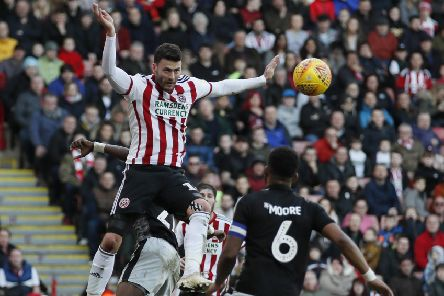 Gary Madine is quickly winning over Sheffield United fans (Picture: Simon Bellis/Sportimage)
