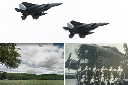 The flypast is due to take place on Friday