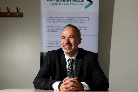 Chief executive lead for the partnership, Rob Webster. Picture: Scott Merrylees