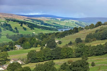 Looking up Nidderdale from above Pateley Bridge.' Picture Bruce Rollinson