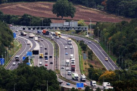 What can be done to ease congestion on the M62?