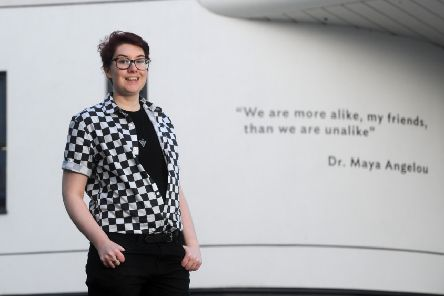 Tristan Smith wants to make life better for transgender people. (Picture: Tony Johnson).