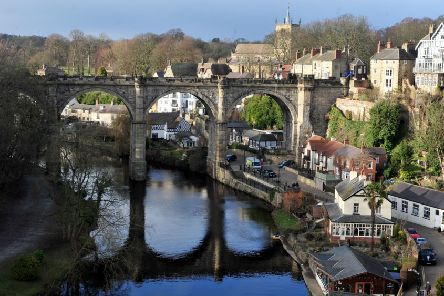 Knaresborough Viaduct. Picture by Gerard Binks Photography.