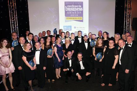 Yorkshire Post Excellence in Business Awards at the National Railway Museum in York.'Award winners'1st November 2018.