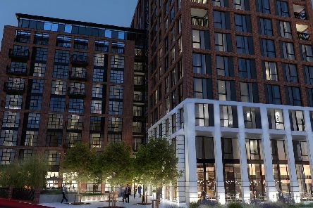 An image of how the Shannon Street development would look.