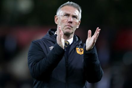 Hull City manager Nigel Adkins.