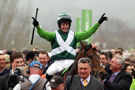 Noel Fehily's career highlight was a Cgampion Hurdle win on Rock on Ruby.