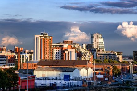 ADOBE STOCK'Panoramic view of Leeds city in Yorkshire, England.