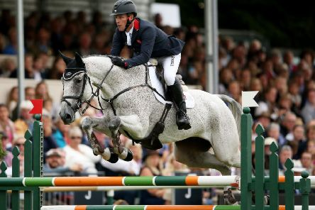 ON TOP OF THE WORLD: Oliver Townend, on Ballaghmor Class.