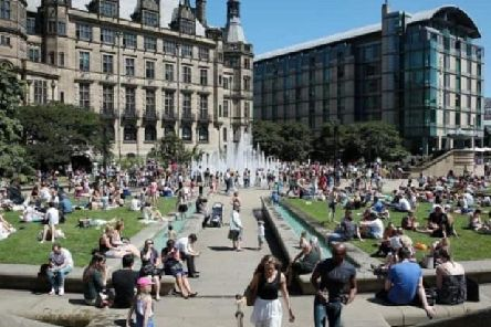 Sheffield will see highs of 23C on Saturday, hotter than parts of Spain, Greece and Turkey