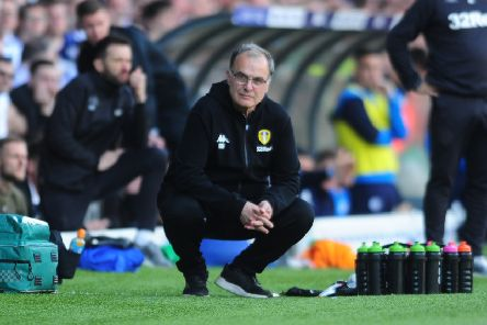 Aiming to bounce back: Dejected Leeds coach Marcelo Bielsa. Picture: Simon Hulme