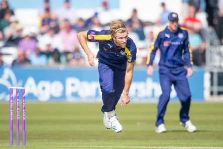 Ready to shine: Yorkshire's David Willey.