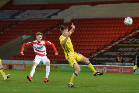 Kieran Sadlier: We deserve to be where we are in sixth, says the Doncaster Rovers player. Picture: Bruce Rollinson.