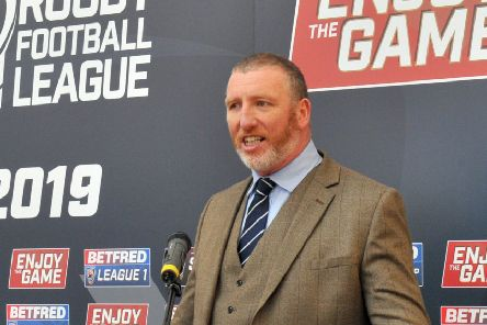 Ralph Rimmer Chief Executive of the RFL. Picture: Gary Longbottom.
