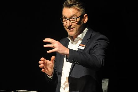Leeds Playhouse's Artistic Director James Brining.  Picture Tony Johnson.