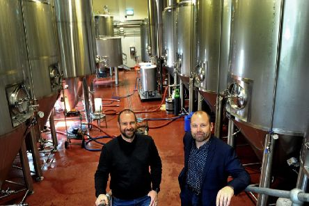 Craig Butler and Chris Spencer will brew their new drink in Cropton, Ryedale