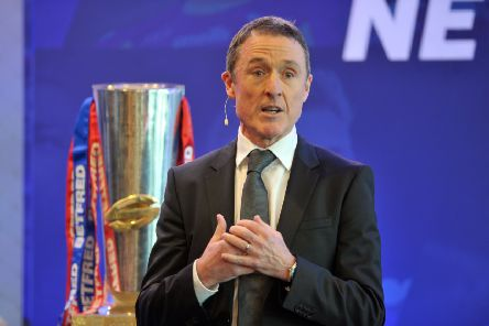 Super League chief executive Robert Elstone (Picture: Tony Johnson).