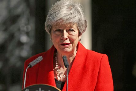 Jayne Dowle thinks Theresa May's shoes may be her best legacy. Photo: Yui Mok/PA Wire