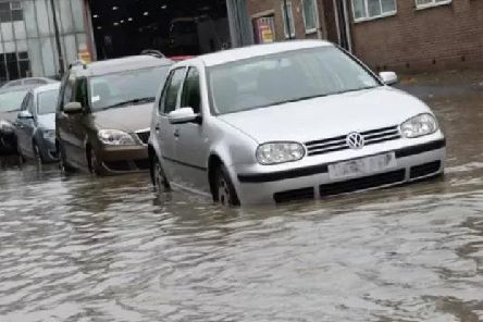 Heavy downpours have been forecast across Yorkshire
