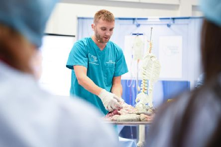 Sam Piri at an Operating Theatre Live event.