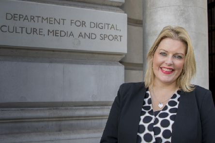 Loneliness Minister Mims Davies. Picture: The Department for Digital, Culture, Media and Sport