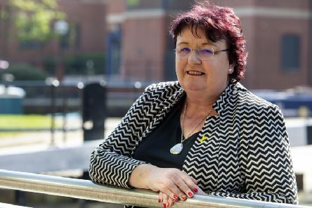 Jo Miller, outgoing chief executive of Doncaster Council.