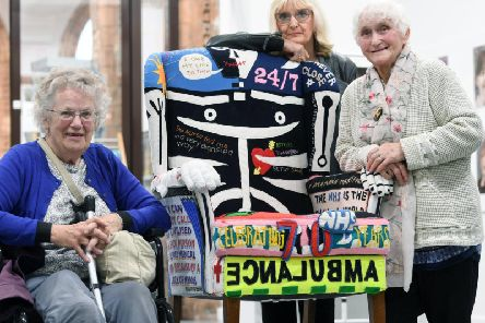 Beatrice Rogers, June Maw and Maureen Idle have shared their stories as part of the exhibition.