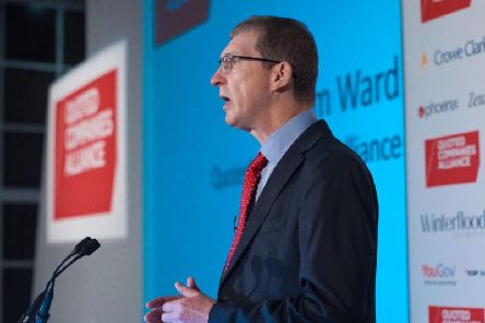 Tim Ward, chief executive, Quoted Companies Alliance