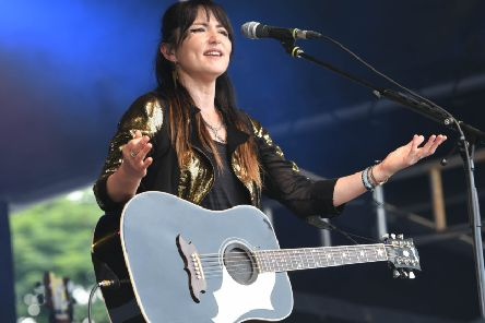 KT Tunstall on stage. Photo: Kevin Brady
